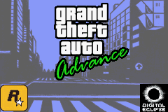 Grand Theft Auto Advance - Introduction  - Title Screen - User Screenshot