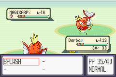 Pokemon Ruby - Battle  - Battle of the ages - User Screenshot
