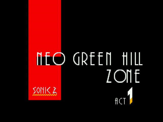 Sonic 2 Delta II - Neo Green Hill?!?! - User Screenshot