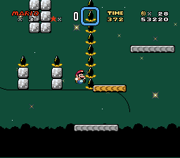 Kaizo Mario World - Level Level 6: Ultra Star - How am I supposed to pass this part?! - User Screenshot