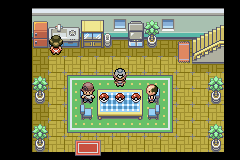 Pokemon Genesis - How you choose your starter. - User Screenshot