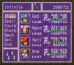 Breath of Fire II - end of the game - User Screenshot