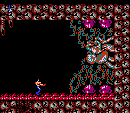 Contra - Battle  - Stage 8 Boss (Final) - User Screenshot