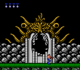 Contra - Battle  - Stage 2 Boss Defeated - User Screenshot