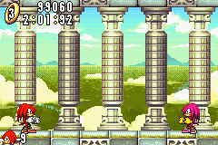 Sonic Advance (europe) - 2 knux - User Screenshot
