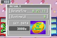 Megaman Battle Network 3 Blue - Plantman in 27:11 seconds, never got hit. - User Screenshot