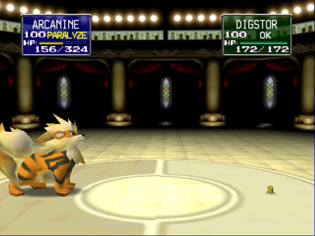 Pokemon Stadium - Holy... Look at the size difference! - User Screenshot