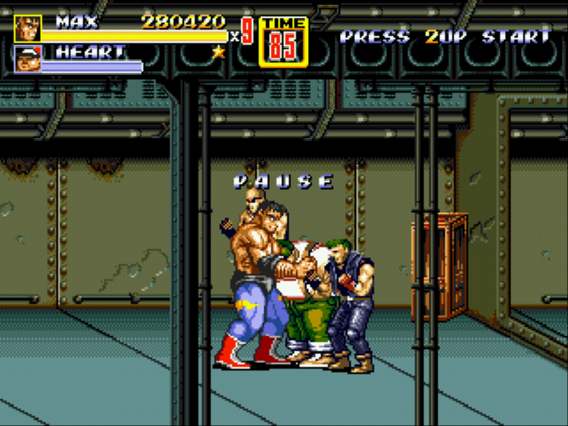 Streets of Rage 2 - Battle  - Click for a reward! - User Screenshot