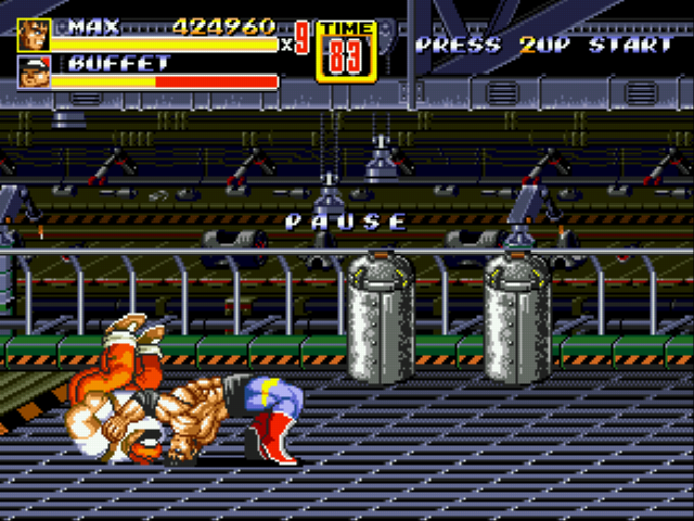 Streets of Rage 2 - Battle Battle - Click for a reward! - User Screenshot