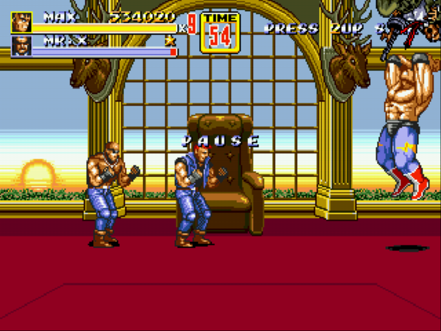 Streets of Rage 2 - Battle  -  - User Screenshot