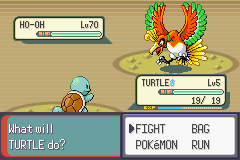 Pokemon Rebirth - Battle  - well this is awkward XD  - User Screenshot