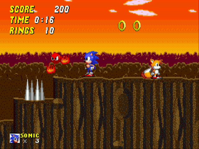 Sonic 2 - The Lost Worlds - Level Rock Zone -  - User Screenshot