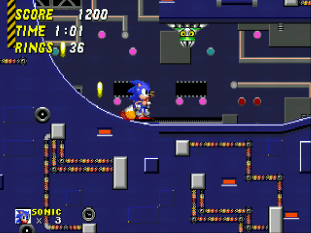Sonic 2 - The Lost Worlds - Level Cyber City -  - User Screenshot