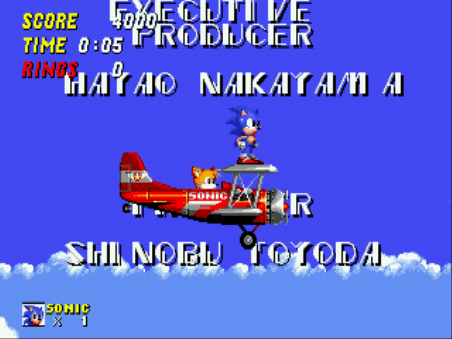 Sonic 2 - The Lost Worlds - Level Credit Zone -  - User Screenshot
