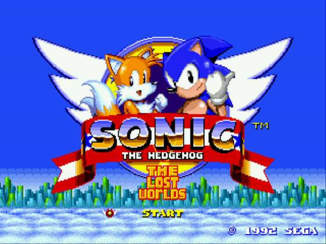 Sonic 2 - The Lost Worlds - Introduction  - Sonic 2: The Lost Worlds - User Screenshot