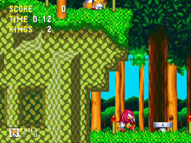 Sonic and Knuckles & Sonic 3 - Cut-Scene  - Nope, I guess not. - User Screenshot