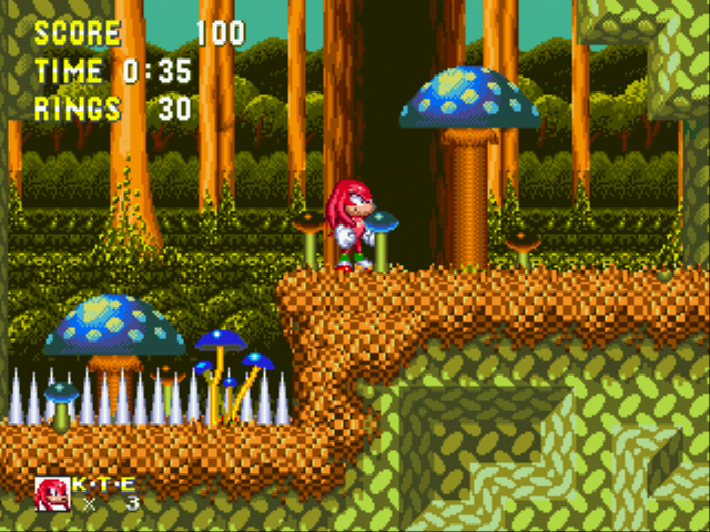 Sonic And Knuckles Ssega