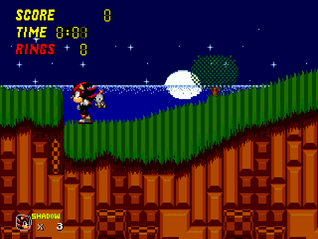 Sonic 2 - Project Shadow - Rough the bat should be following me - User Screenshot