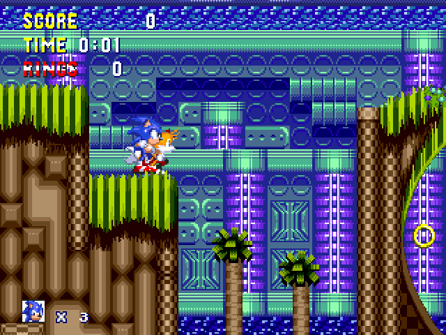 Sonic Zeta Overdrive - First level - User Screenshot