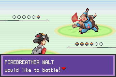 Pokemon Liquid Crystal (alpha) - Battle  - Shiny Firebreather :o - User Screenshot