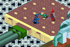 Mega Man Battle Network - Battle  - Meet IceMan - User Screenshot