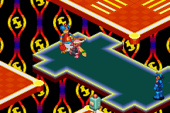 Mega Man Battle Network - Battle  - Meet ColorMan - User Screenshot