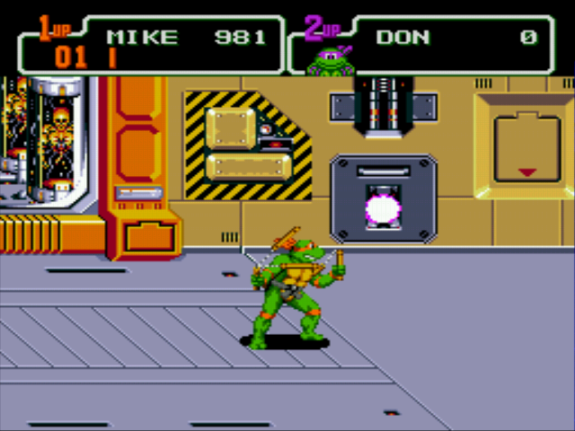 Teenage Mutant Ninja Turtles - The Hyperstone Heist - Level 5 - Oh, no, more laserbeams... - User Screenshot