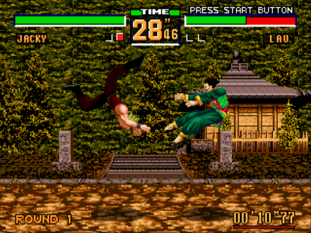 Virtua Fighter 2 - Battle  - Did he learn from Guile? - User Screenshot