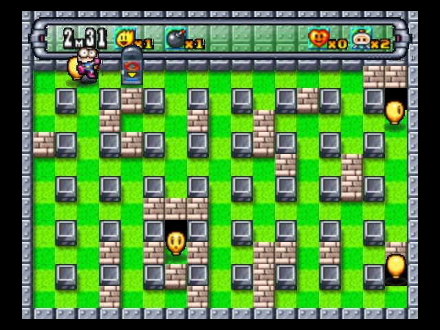 Bomberman 64 (Japan) - Level 1-A -  - User Screenshot