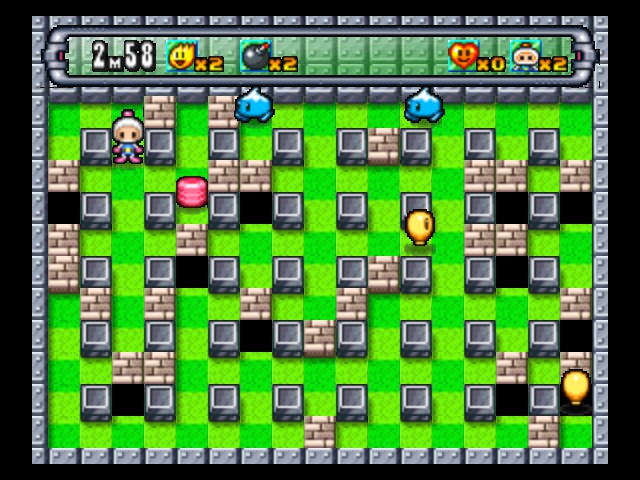 Bomberman 64 (Japan) - Level 2-B -  - User Screenshot