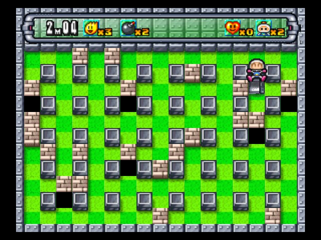 Bomberman 64 (arcade edition) - Level 2-B -  - User Screenshot