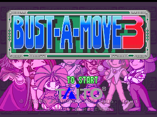 Bust-A-Move 3 - Introduction  -  - User Screenshot