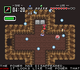 BS Zelda - Ancient Stone Tablets (week 4) - Level 8 - Bolt! - User Screenshot