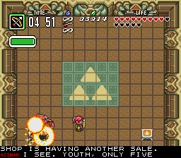 BS Zelda - Ancient Stone Tablets (week 4) - Battle  - Your head asplode! - User Screenshot