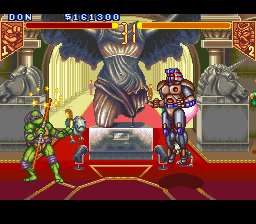 Teenage Mutant Ninja Turtles - Tournament Fighters - Battle  - uh oh... - User Screenshot