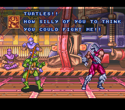 Teenage Mutant Ninja Turtles - Tournament Fighters - Battle  -  - User Screenshot