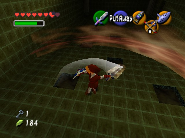 The Legend of Zelda - Ocarina of Time - Level  - look at me mommy. i can make a fire storm - User Screenshot