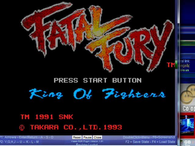 Fatal Fury - Introduction  - Fatal Fury, King of Fighters - User Screenshot