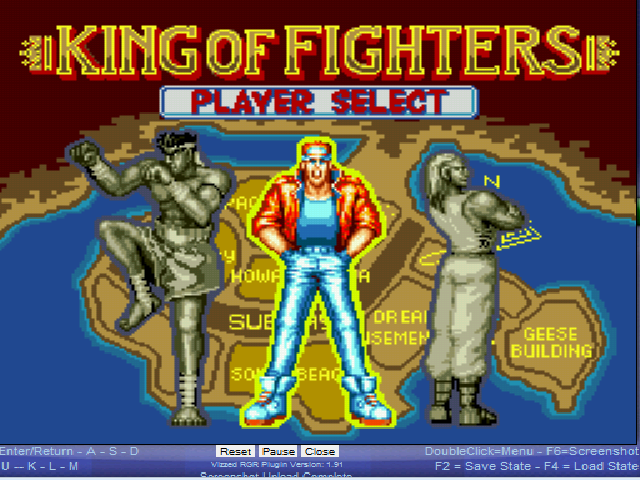 Fatal Fury - Character Select  - Do these guys have names? - User Screenshot