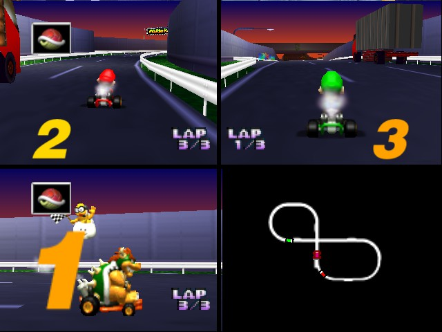 Mario Kart 64 - Misc Sweet - First place - User Screenshot