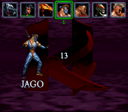 Killer Instinct - Character Select  - Jago - User Screenshot