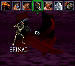 Killer Instinct - Character Select  - Spinal - User Screenshot