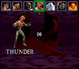 Killer Instinct - Character Select  - Thunder - User Screenshot