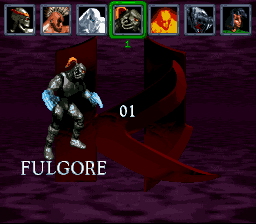 Killer Instinct - Character Select  - Fulgore - User Screenshot