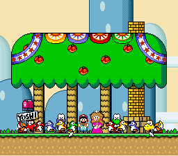 Super Mario World - Cut-Scene  - shouldn