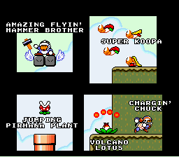 Super Mario World - Ending  - the cast 4 - User Screenshot