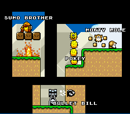 Super Mario World - Ending  - the cast 3 - User Screenshot
