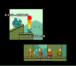 Super Mario World - Ending  - the cast 10 - User Screenshot