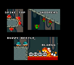 Super Mario World - Ending  - the cast 8 - User Screenshot
