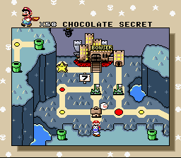 Super Mario World - Level Select  - Bowser